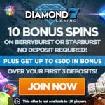 Diamond7 Casino Bonus And Review