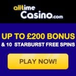 All Time Casino Bonus And  Review News