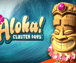 Aloha! Cluster Pays Video Slot Game