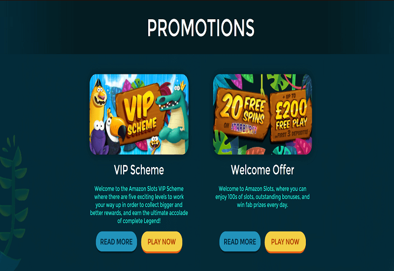 Amazon Slots Casino Promotion