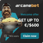 ArcaneBet Casino Bonus And  Review  Promotion