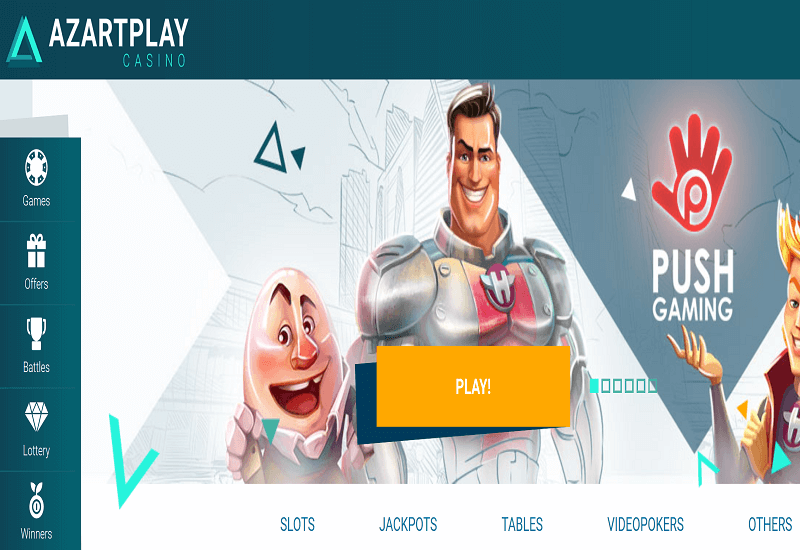 Azartplay Casino Home Page