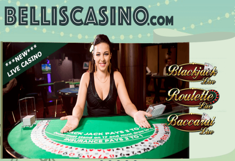 Bellis Casino Home Page