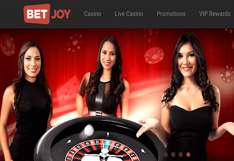 Bet Joy Casino Home Page
