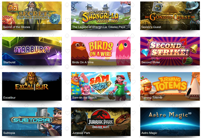 Betive Casino Video Slots