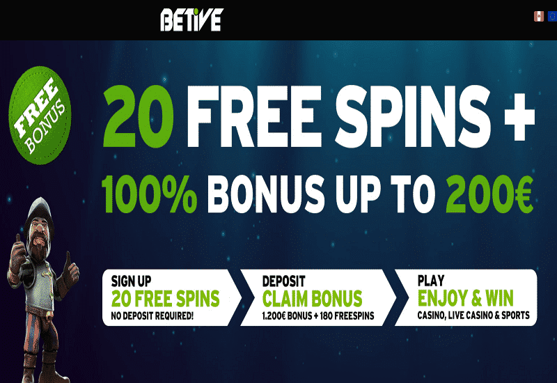 Betive Casino Promotion
