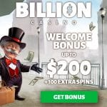 Billion Casino Bonus And  Review  Promotions