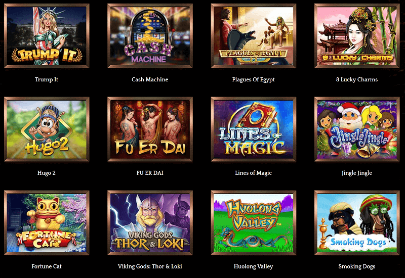 Bronze Casino Video Slots