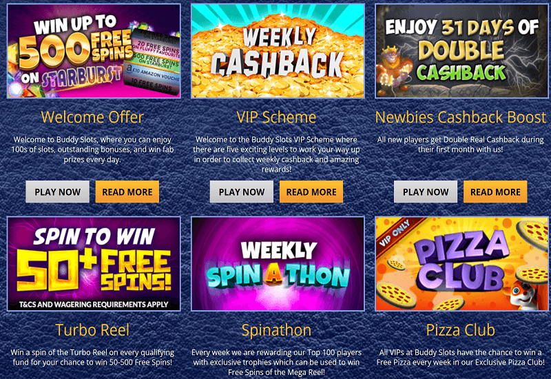 Buddy Slots Casino Promotion