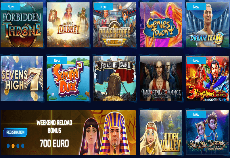 Buran Casino Video Slots