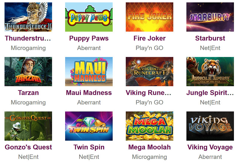 Caliber Bingo Casino Video Slots