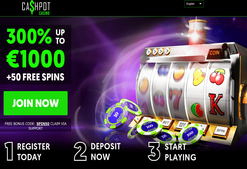 Cashpot Casino Promotion