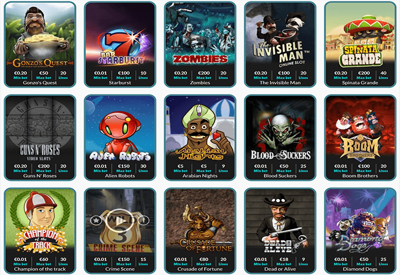 Cashmio Casino Video Slots