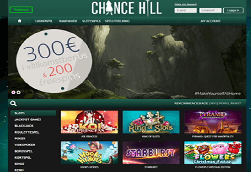 Chance Hill Casino Promotion