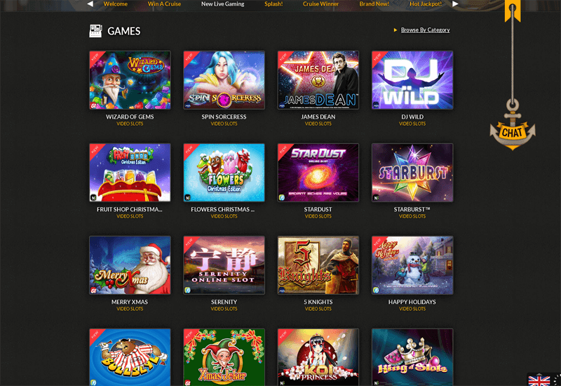 Cruise Casino Games