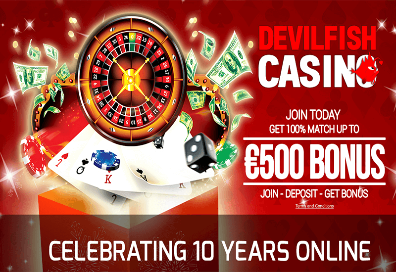 Devilfish Casino Home Page
