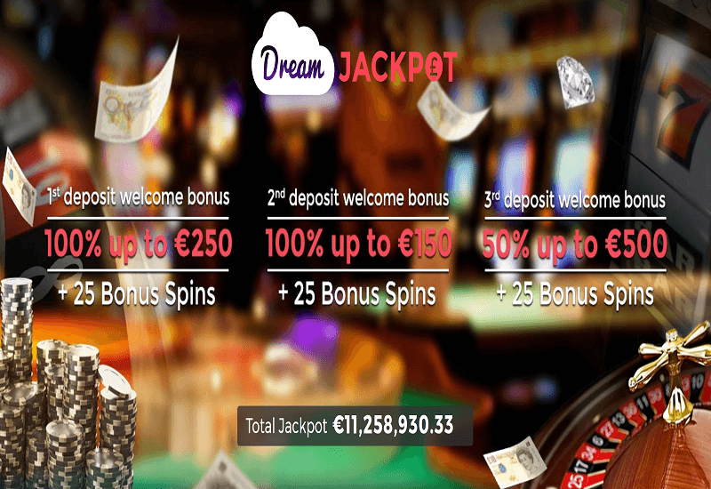 Dream Jackpot Casino Promotion
