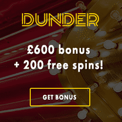 Dunder Casino Bonus And Review News Netent No Deposit List 2020