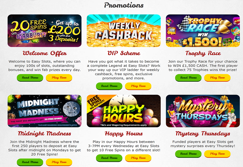 Easy Slots Casino Promotion