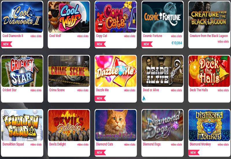 Free Spins Casino Video Slots