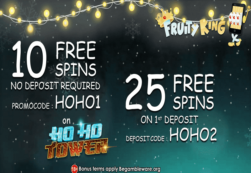 Fruity King Casino Promotion