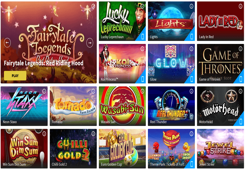 Gamblio Casino Video Slots