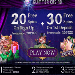 50 Free Spins on Piggy Riches at Glimmer Casino
