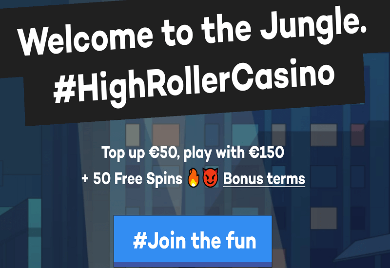 High Roller Casino Promotion