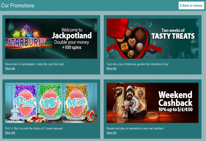 Jackpot Land Casino Promotions