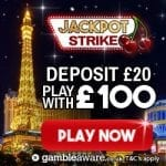 Jackpot Strike Casino Bonus And Review News