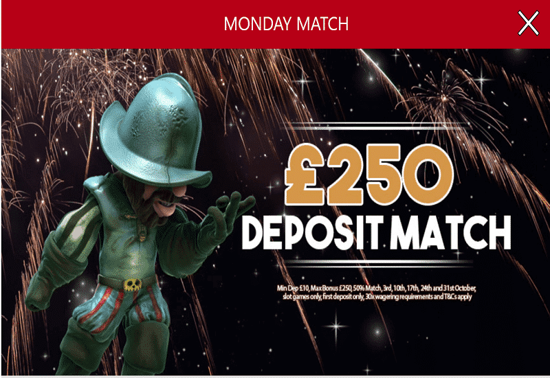 Jackpot Strike Casino Promotion