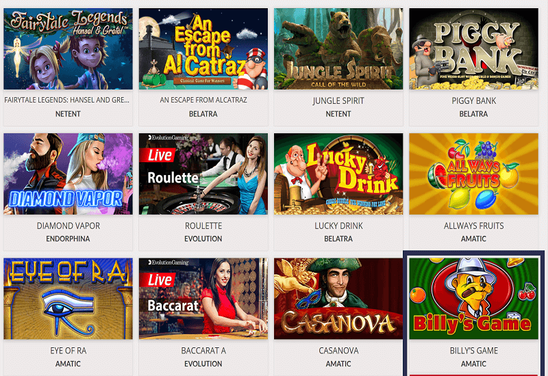 Joo Casino Video Slots