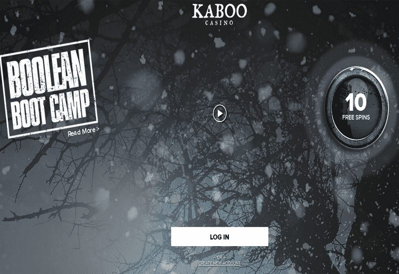 Kaboo Casino Home Page