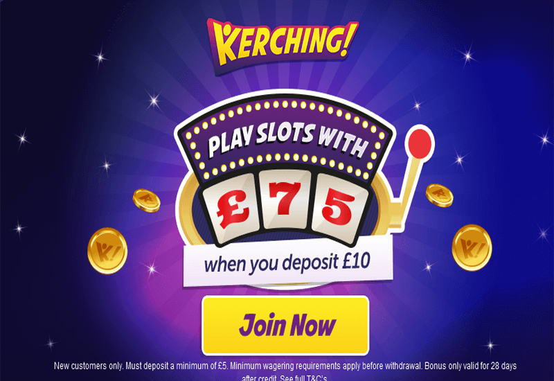Kerching Casino Promotion