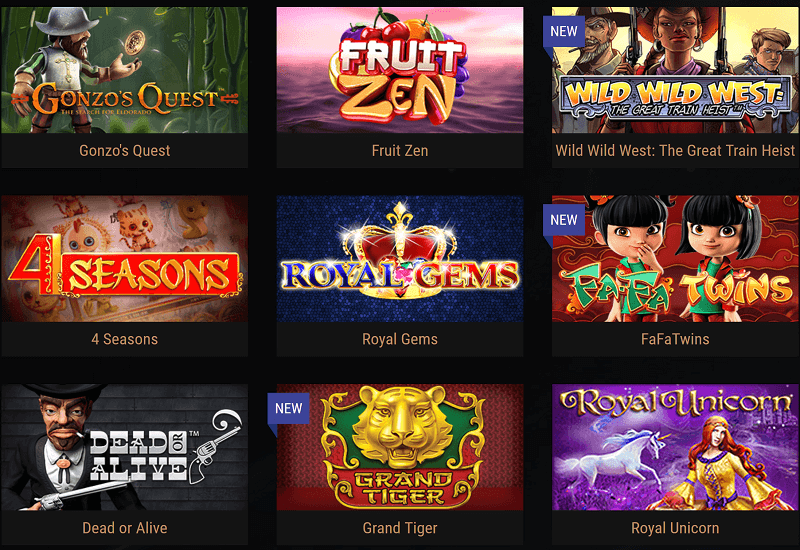 King Billy Casino Video Slots