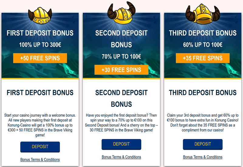 Konung Casino Promotion