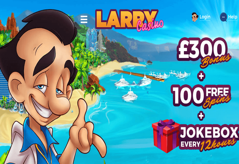 Larry Casino Home Page