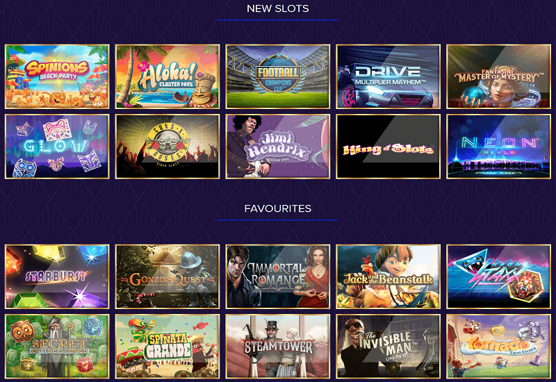 Live Lounge Casino Video Slots