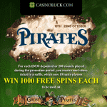 The Pirates promotion continues at CasinoLuck
