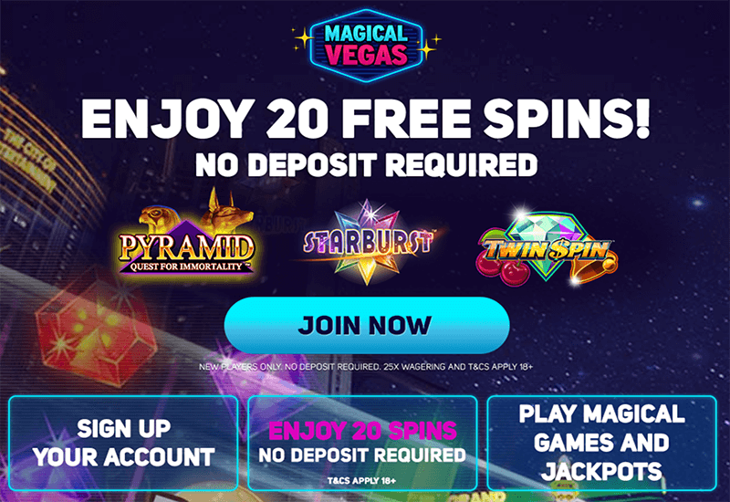 Magical Vegas Casino Promotion