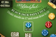 Mini Blackjack Table Games