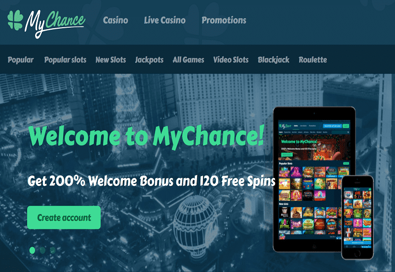 My Chance Casino Home Page