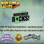 November Rocks with the Northern Lights Casino