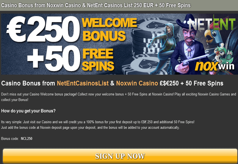 NoxWin Casino Exclusive