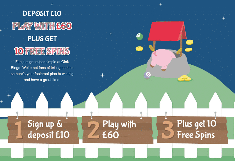 Oink Bingo Casino Promotion