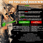 Rock & Roll and Free Spins by Optibet Casino