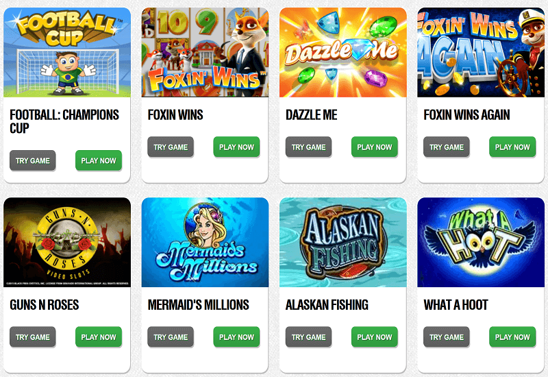 Peters Casino Video Slots