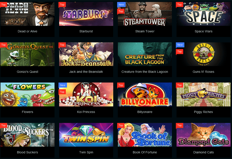 PlayAmo Casino Video Slots