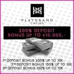 Play Grand Casino and its August promo campaign