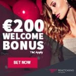 React Casino Bonus And  Review  Promotions